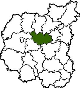карта Чернігівщини